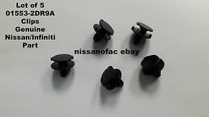 Lot Of 5 Nissan Infiniti Clips 01553 2dr9a
