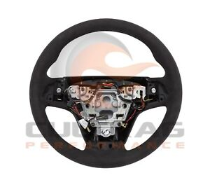 2015 2017 Cadillac Cts Cts v Genuine Gm Suede Steering Wheel 23316245