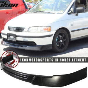 Fits 94 96 Honda Odyssey 5dr Jdm Oe Style Front Bumper Lip Spoiler Urethane Pu