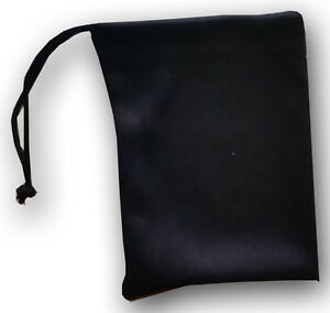 Qty 400 Jewelry Size Travel Pouch Small Gift Bag Black Soft Microfiber Bulk Lot