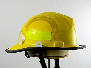 Bullard Firedome Ii Fh2100 New York Firefighter Fire Rescue Helmet Shield