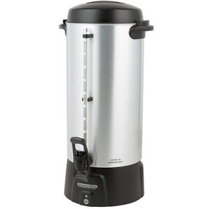 Coffee Maker Brewer Urn 100 Cup 3 9 Gallon Coffee Urn For Schools For Church