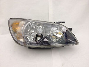 New Lexus Is 300 With Hid With Sport 2003 2005 Passengers Side Oem Headlight
