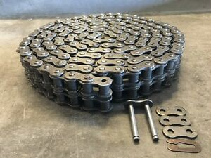100 2h Roller Chain Heavy Double Strand 10 W Connecting Link 100 2hr