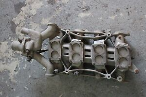 Weber Carburetor Manifold For Maserati Bora