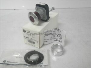 800t fxqh24rg1 Ser T Allen Bradley Illuminated Push Button Red Cap 24v new