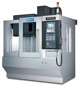 Sharp Industries Sv 2414sx Compact Vertical Machining Centers Cnc Mill