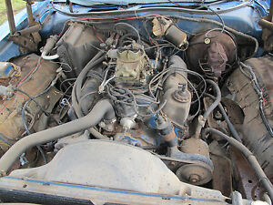 73 Ford Mercury Q Code Engine 4 Bolt 351c 4v With C6 W 2300 Stall Convertor