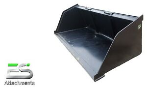 Es New 78 Snow mulch dirt gravel Bucket Skid Steer Quick Attach Local Pick Up