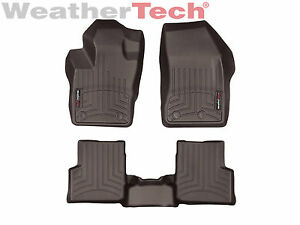 Weathertech Floor Mats Floorliner For Jeep Renegade 2015 2019 Cocoa