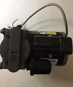 Gast Oil less 200 240v 1ph 100psi 2cfm Max Air Compressor 71r142 p001b d301x