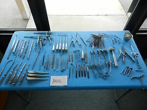 V Mueller Storz Medtronic Surgical Ent Instrument Set W tray