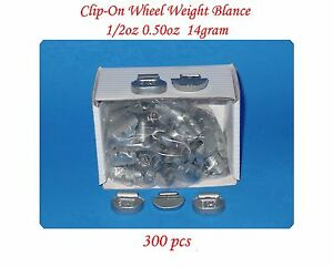 Wholesales 300 Pcs 0 50 1 2oz P Style Clip On Wheel Weight Balance For Steel Rim