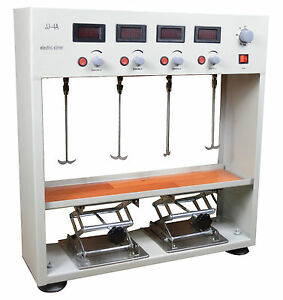 Four Head Electric Overhead Stirrer Mixer Variable Speed Digital Display100w