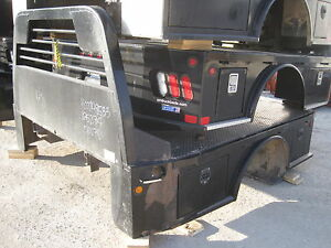Cm Truck Bed Sk Skirted 8 6 X97 58 Ca 42 Dodge Dually Trough Flatbed 148533