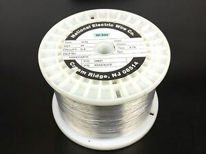 Pure Nickel Wire 28 Gauge 9 28 Lb 19 395 Ft Non Resistance Awg Ni200 Nickel 200
