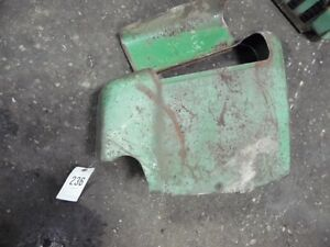 John Deere 10 20 Series Rock Shaft Cover Lh With Toolbox Tag 236