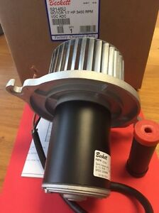 Beckett 52145u Motor 1 7 Hp 13 5 Volt Dc 3450 Rpm Includes Wheel And Coupling