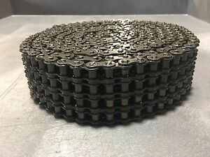100 4r Roller Chain 10 W Connecting Link Quad Strand New 100 4r X 10
