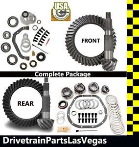 F250 F350 Ford 10 5 Dana 60 4 11 Ring And Pinion Master Install Gear Pkg Thick