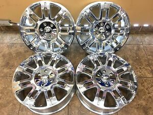 20 20 Inch Oem Replacement Ford F150 Chrome Expedition Wheels Rims 3788 4set