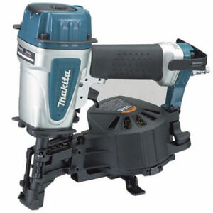 Makita 15 Degree 3 4 1 3 4 Coil Roofing Nailer An453 r Reconditioned