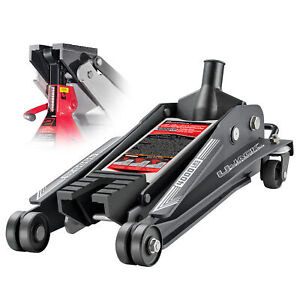 Powerbuilt U Jack 2 Ton Floor Jack With Jackstand Slot In Saddle 620516