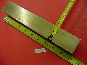 1 5 8 X 1 5 8 C360 Brass Square Bar 10 Long Solid 1 625 Flat Mill Stock H02