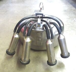 Vintage The Surge Cow Or Dairy Milker Stainless Steel Babson Brothers Co