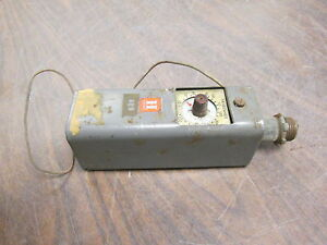 Honeywell Thermostat T675a 0 25a 12vdc Used