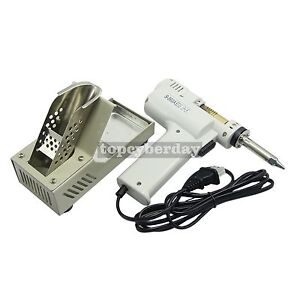 Original S 993a 90w Electric Vacuum Desoldering Pump Solder Sucker Gun 110v
