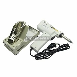 New S 993a 90w Electric Vacuum Desoldering Pump Solder Sucker Gun 110 220v