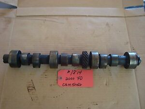 Ford 2000 3000 Tractor Used Camshaft Ref Part 87800323