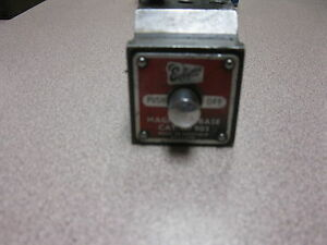 Eclipse 903 Magnetic Base For Mounting A Dial Indicator