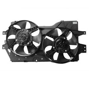 New Radiator Cooling Fan Motor Assembly For 96 00 Caravan Voyager Town Country