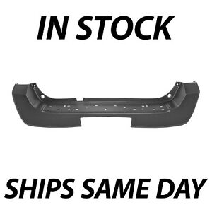 New Primered Rear Bumper Cover Replacement For 2005 2007 Nissan Pathfinder