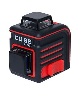Adirpro Cube 360 Degree Horizontal Vertical Cross Line Laser