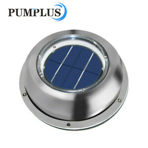 Solar Vent Automatic Ventilator Fan For Motorhome Rv Caravans Bathroom Boat Us