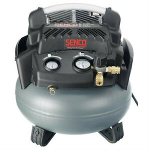 Senco Pc1280 1 5 Hp 6 Compact Lightweight Gallon Pancake Air Compressor New
