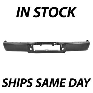 New Primered Rear Steel Bumper Face Bar Replacement For 2006 2008 Ford F150