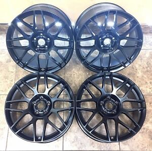 19 19 Inch Ford Mustang Svt Staggered Cobra Shelby Wheels Rims 3865 Set Of 4