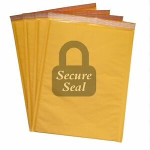 150 7 14 25x20 Kraft Bubble Mailers Self Seal Padded Envelopes 14 25 X 20