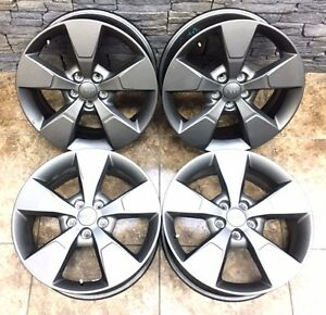 18 18 Inch Oem Jeep Cherokee Anniversary Edition Wheels Rims Factory 97583 4set