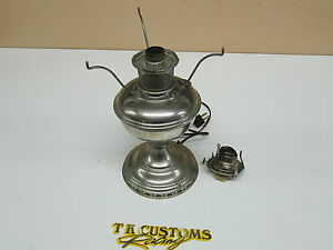 Aladdin Mantle Lamp Nickel Plated Model No 11