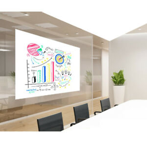 60 x20 Removable Repositionable Dry Erase White Board Sheet film gloss