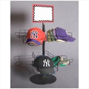 Rotating Cap hat Display Table Top