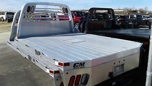 Cm Aluminum Rd Truck Bed Fits Ford Chevy Dodge Ram With 8 Foot Box Delete