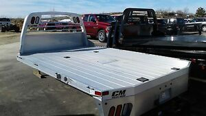 Cm Aluminum Rd Truck Bed Fits Ford Chevy Dodge Ram Chassis Cab Dually W 84 Ca