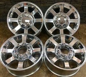 20 20 Inch Ford F250 F350 Sd Polished Wheels Rims 07 17 Oem Specs Set Of 4 3693