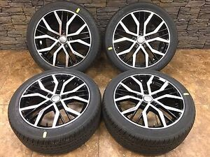 18 18 Inch Audi S Line Replacement Machine Black Wheels Rims 18x8 0 5x112 4 set